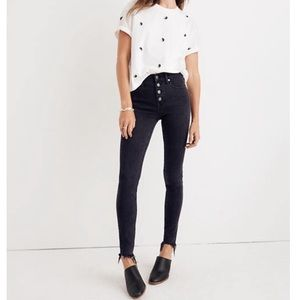 """NWT Madewell 9"""" Mid-Rise Skinny Jeans"""